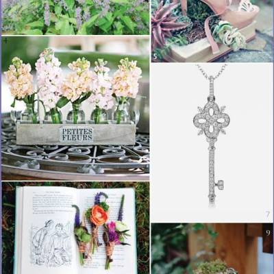 Wedding Inspiration Board #9: Secret Garden
