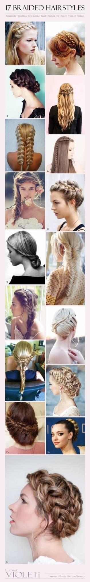 17 Braided Bridal Hairstyles