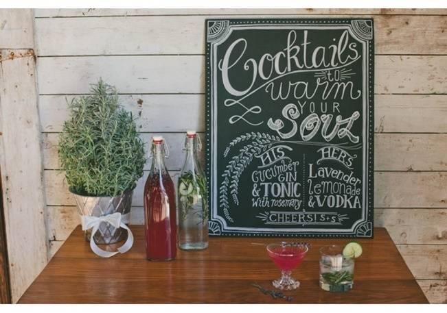 Lavender + Rosemary Winter Wedding Inspiration {Blue Jar Events + Jennifer Bakos Photography} 12