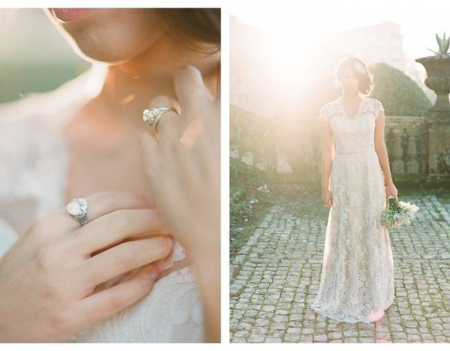 Rome Retreat Bridal Shoot in Frascati, Italy {Buffy Dekmar} 5