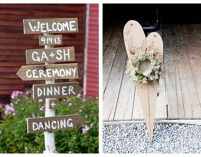Vermont Country Chic Barn Wedding {Ember Photography} 7