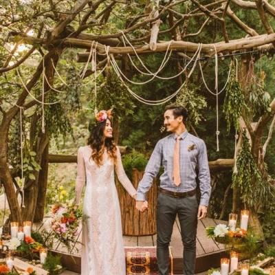 16 Rustic Ceremony Backdrop Ideas