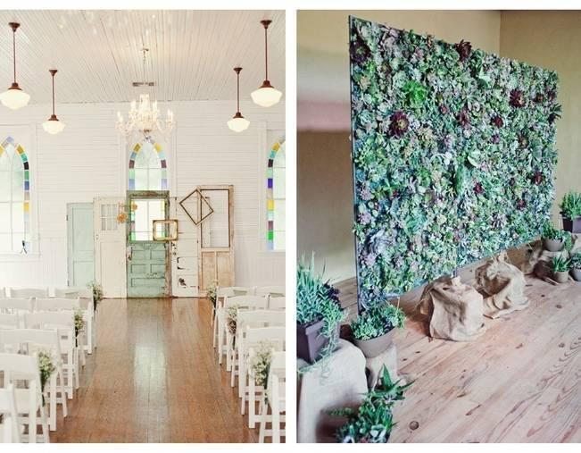 16 Rustic Ceremony Backdrop Ideas 10