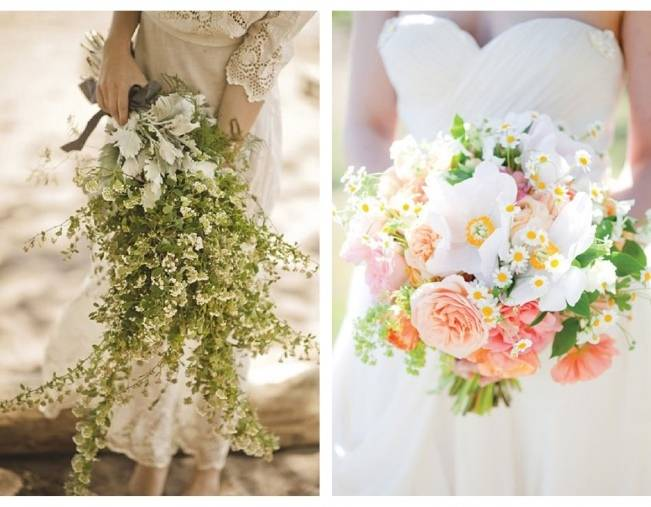 beautiful wildflower wedding bouquet ideas 7