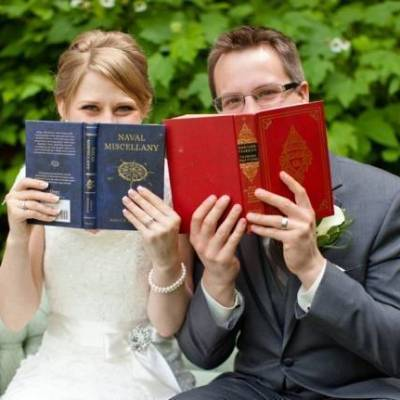 Book Themed British Columbia Wedding {Vanessa Voth Photography}