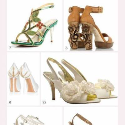 17 Wedding-Worthy Nature Inspired Shoes