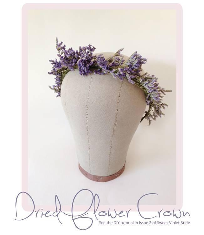 Dried Flower Crown DIY Tutorial