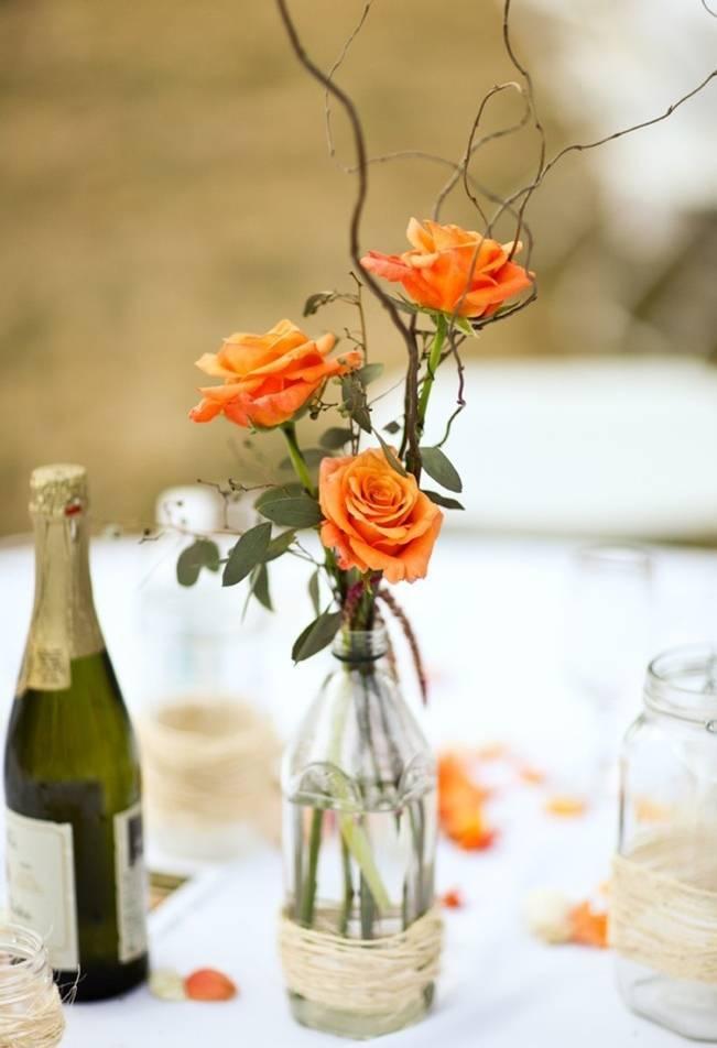 Simple DIY Wedding Centerpiece Ideas 9