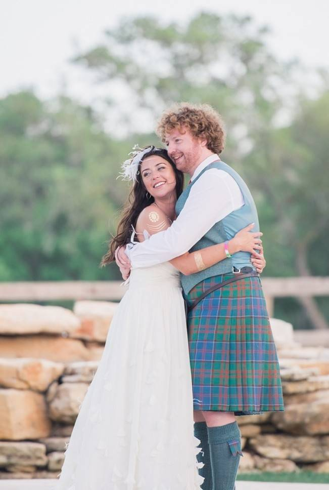 Music-Themed Scottish Wedding in Texas {Rememory Photography} 12