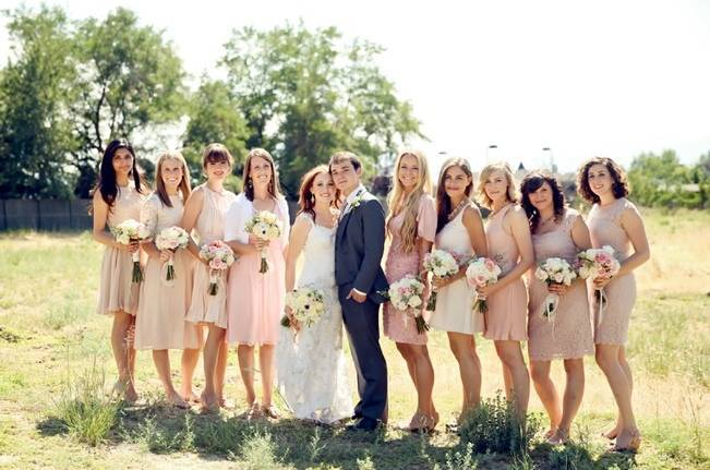 Utah Backyard Garden Wedding {Pepper Nix Photography} 9