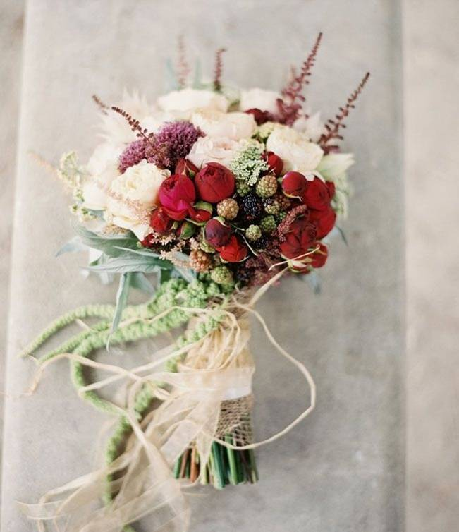 Pinterest Fall Wedding Flowers: 12 Rustic Autumn Wedding Bouquets To Fall For