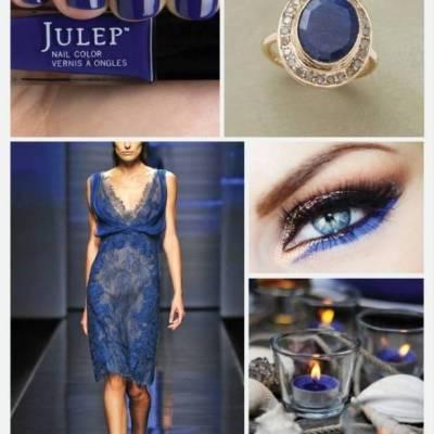 Wedding Color Palette: Sapphire