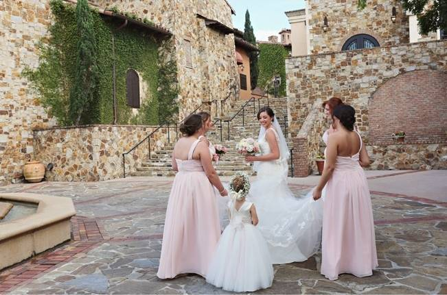 Vintage-Inspired Wedding at Bella Collina {Heather Rice Photography} 11