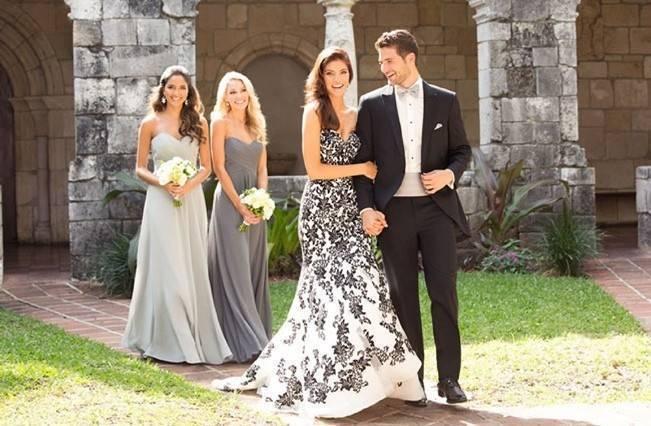Alternative Autumn Wedding Dresses Brides In Black