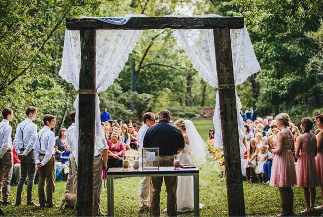 Backyard DIY Kentucky Wedding {Cassie Lopez Photography} 11