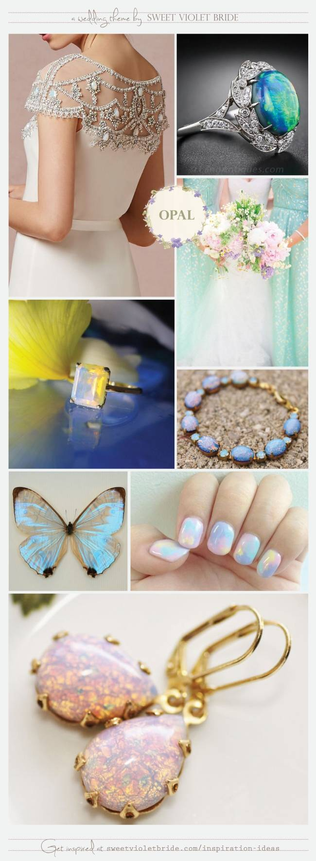 Opal Wedding Inspiration