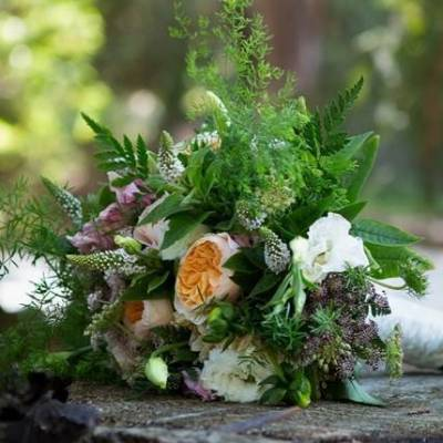 Rustic Redwood Forest Wedding {Rebekah Dotson Photography}