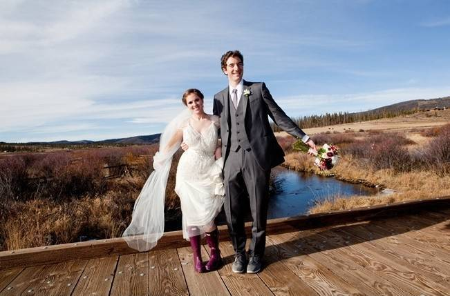 Woodsy Colorado Mountain Wedding {Karen High Photography} 10