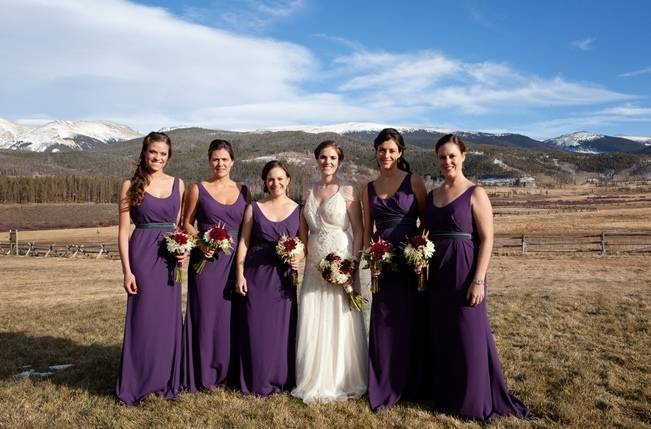 Woodsy Colorado Mountain Wedding {Karen High Photography} 11