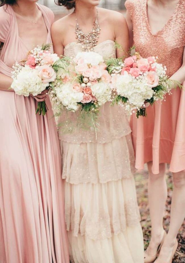 Gold Wedding Dress Inspiration 11