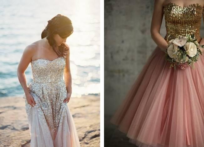 Gold Wedding Dress Inspiration 2
