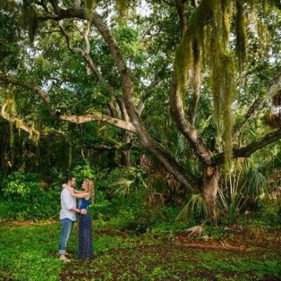 Boho Picnic Engagement in Florida {Ashlee Hamon Photography}