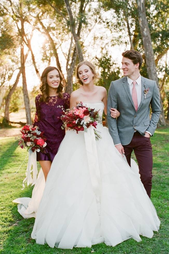 Elegant Red Alfresco Wedding Inspiration {Carmen Santorelli Photograhy} 14
