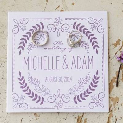 Woodsy Purple New Hampshire Wedding {Erika Follansbee Photography}
