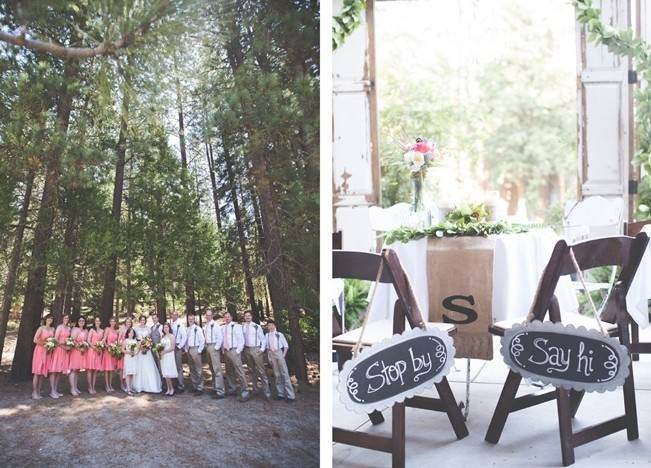 Rustic Sequoia National Park Wedding at {Carly Short Photography} 17