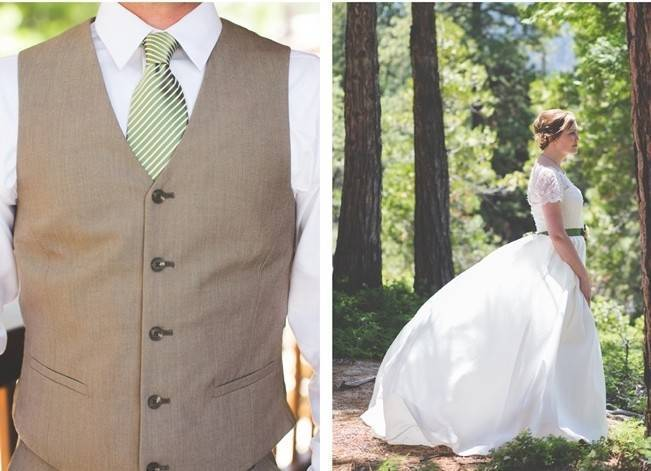 Rustic Sequoia National Park Wedding at {Carly Short Photography} 4