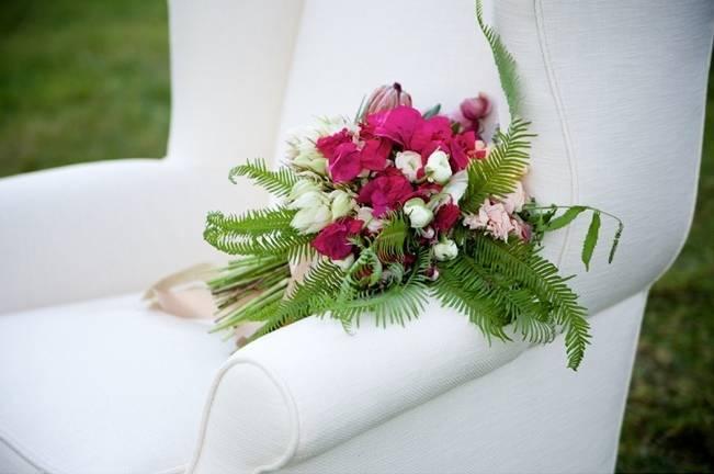 Backyard Vintage Boho Wedding {Christina O'Brien Photography} 16