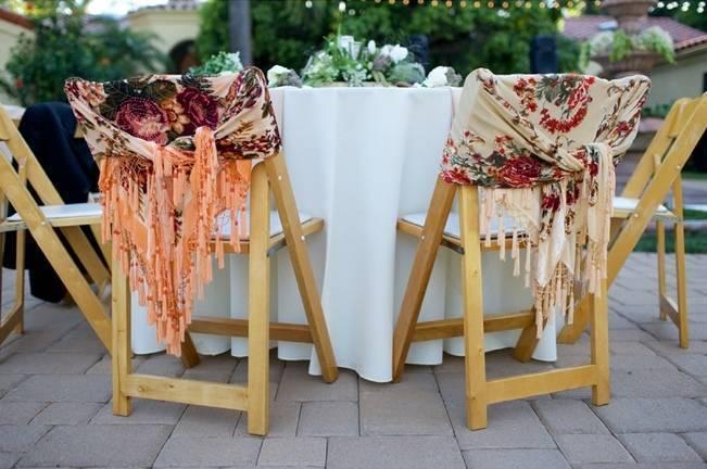 Backyard Vintage Boho Wedding {Christina O'Brien Photography} 18