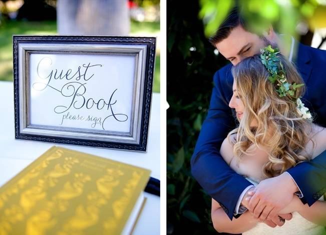 Backyard Vintage Boho Wedding {Christina O'Brien Photography} 19