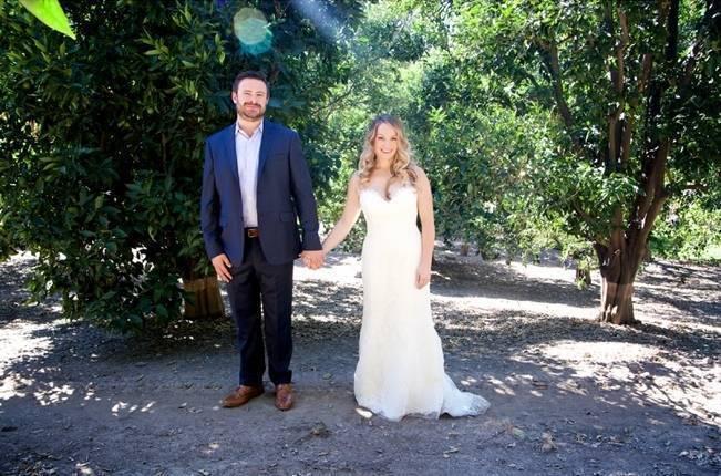 Backyard Vintage Boho Wedding {Christina O'Brien Photography} 21