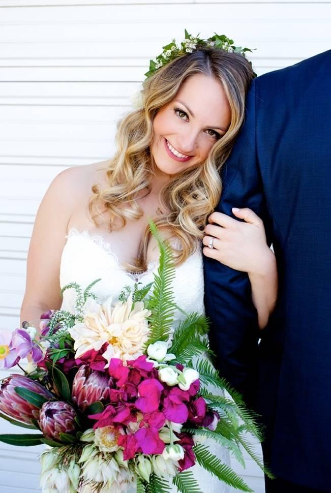 Backyard Vintage Boho Wedding {Christina O'Brien Photography} 6