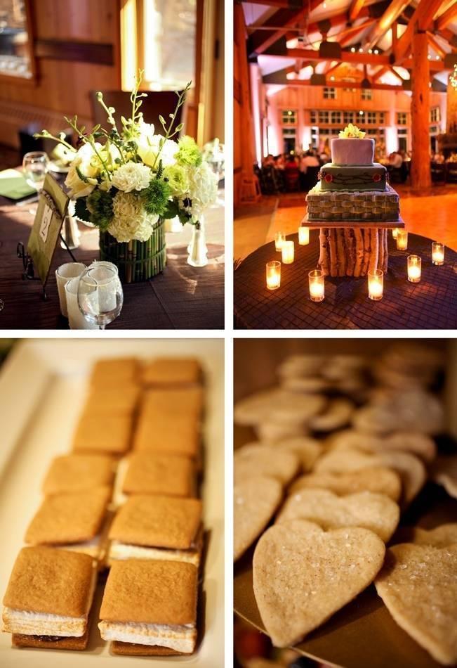 Green + Ivory Mountain Wedding at Deer Valley Resort 14