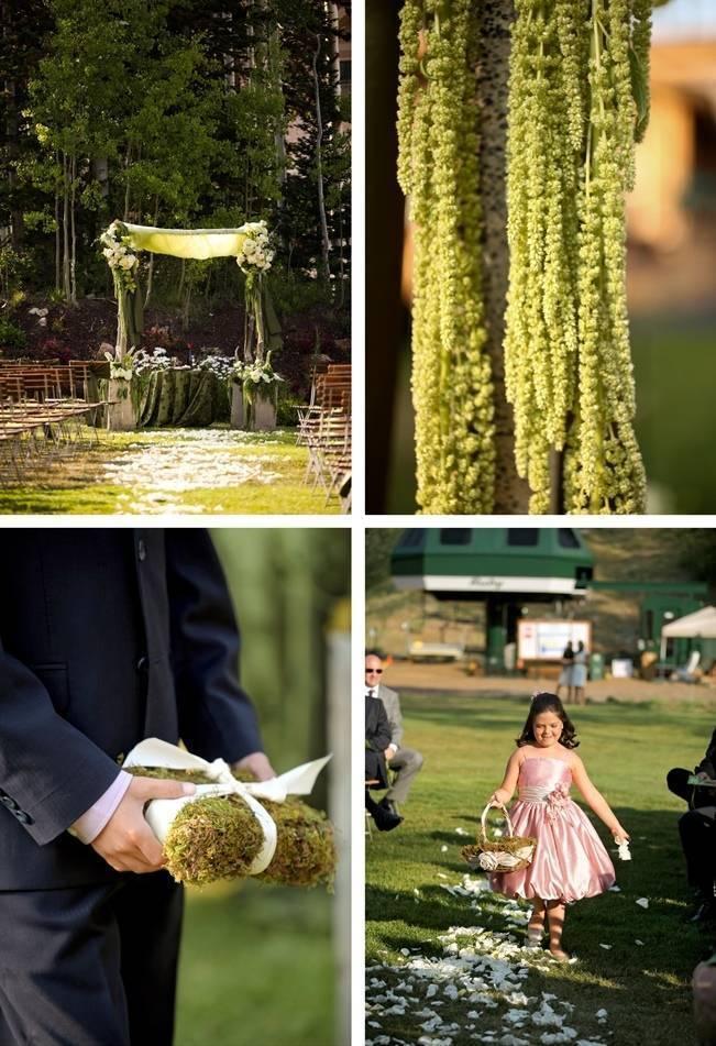 Green + Ivory Mountain Wedding at Deer Valley Resort 7