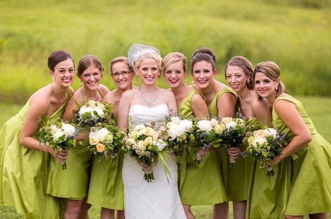 Hops Themed Wisconsin Farm Wedding {Studio Jada Photography} 1