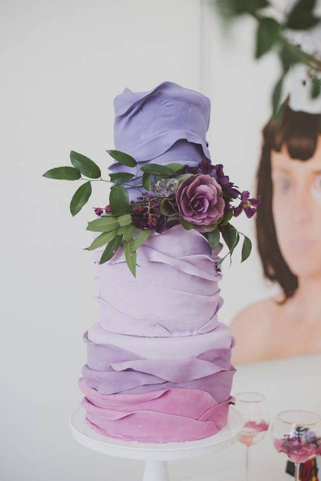 Prettiest Purple Cakes 6 - Photo by Chantel Marie - Annie Bee Cakery