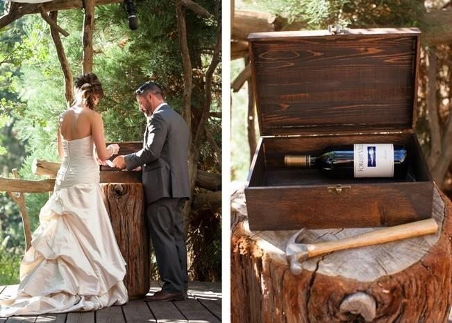 Rustic Woodland Mountain Wedding {Gilmore Studios} 12