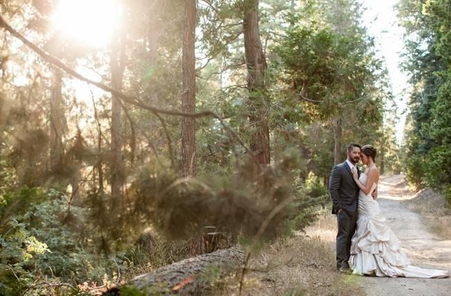 Rustic Woodland Mountain Wedding {Gilmore Studios} 16