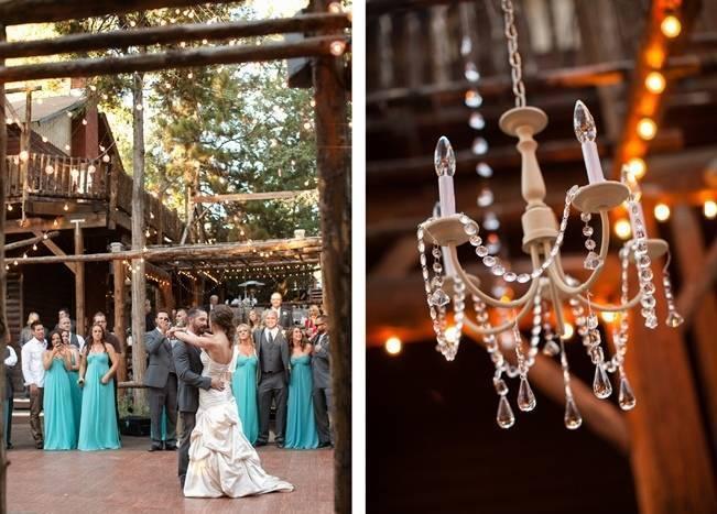 Rustic Woodland Mountain Wedding {Gilmore Studios} 21