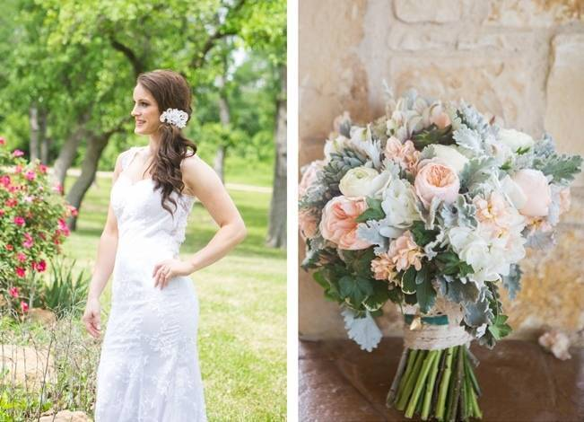 Elegant + Rustic Texas Wedding {Shelly Taylor Photography} 2