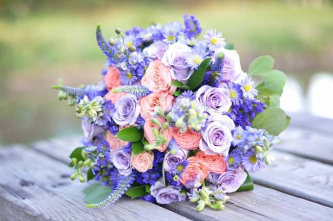 Road to Paradise Rustic Purple Bridal Look {Silver Nest Photography} 1
