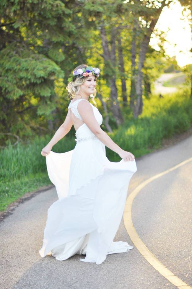 Road to Paradise Rustic Purple Bridal Look {Silver Nest Photography} 7