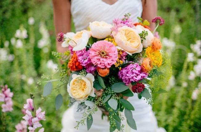 Wildflower Bridal Inspiration at Stray Cat Flower Farm {The Light + Color} 1