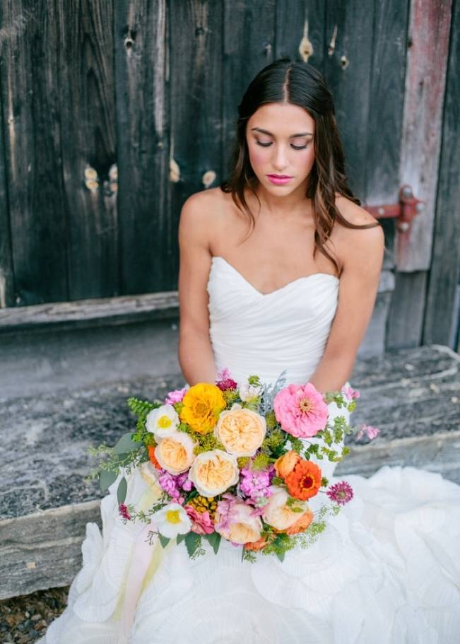 Wildflower Bridal Inspiration at Stray Cat Flower Farm {The Light + Color} 15