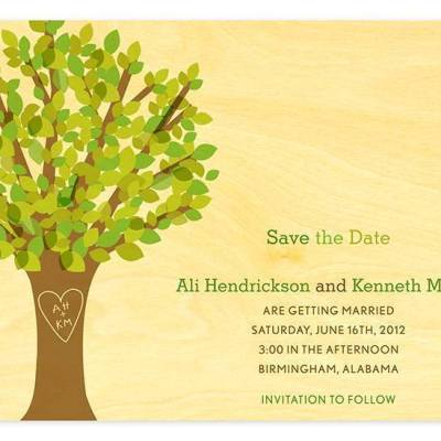 Nature Inspired Save-the-Dates