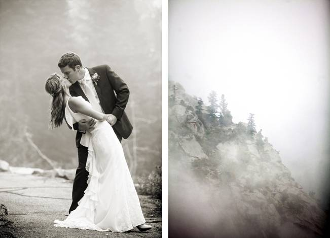 Misty Mountain Wedding at Millcreek Inn {Logan Walker Photography} 11
