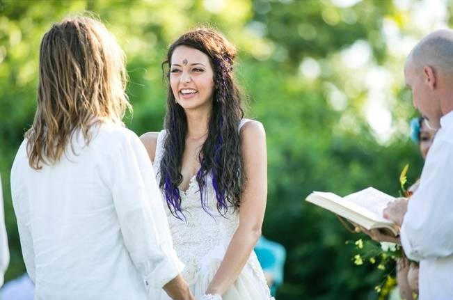 DIY Barefoot Summer Wedding {M and E Photo Studio} 15